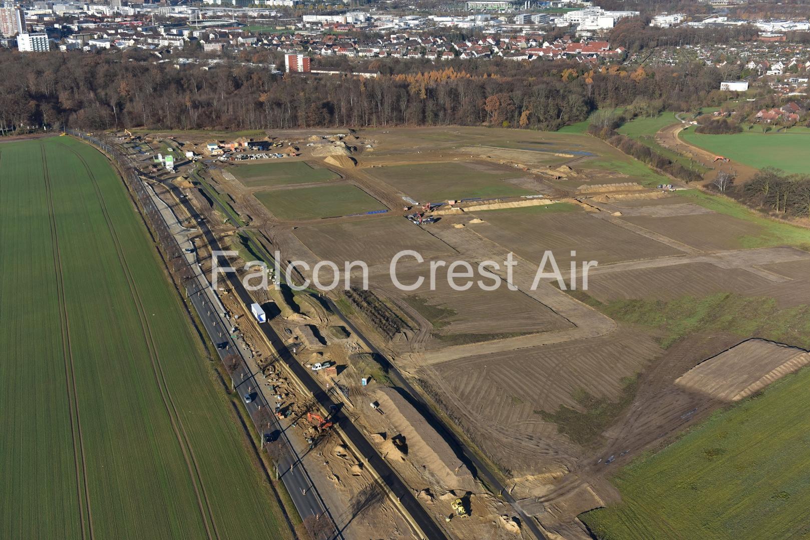 Falconcrest.com - Luftbilder und Luftbildvideos - Wolfsburg Trends